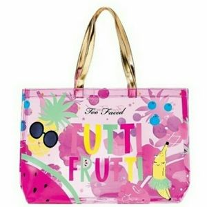 Too Faced Cosmetics Tutti Frutti Large Tote Bag